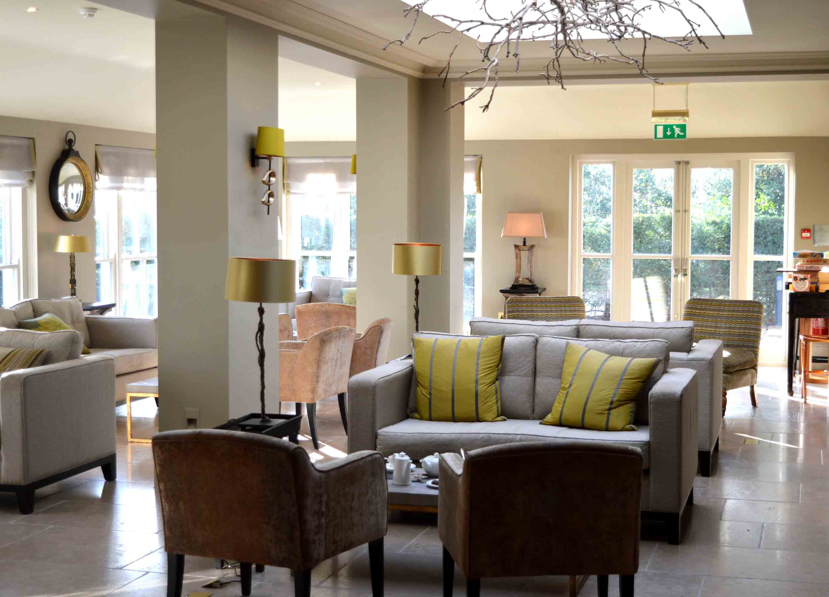 Review The Vineyard Hotel In Stockcross Berkshire The