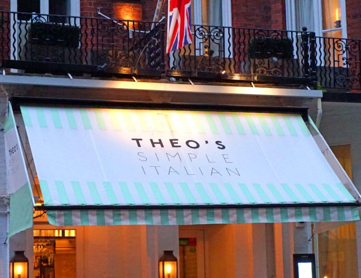 REVIEW: Theo's Simple Italian, Barkston Gardens, Earl's Court, London
