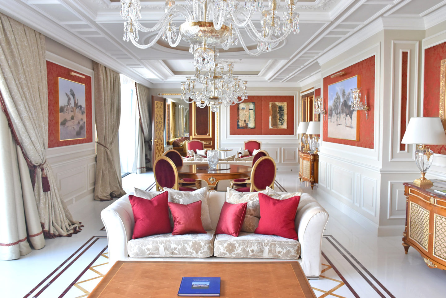 There Was No Question About What Hotel Suite Would Be My Number One Choice  And It Had To Be The Royal Suite At Atlantis By Giardino In Zurich,  Switzerland.