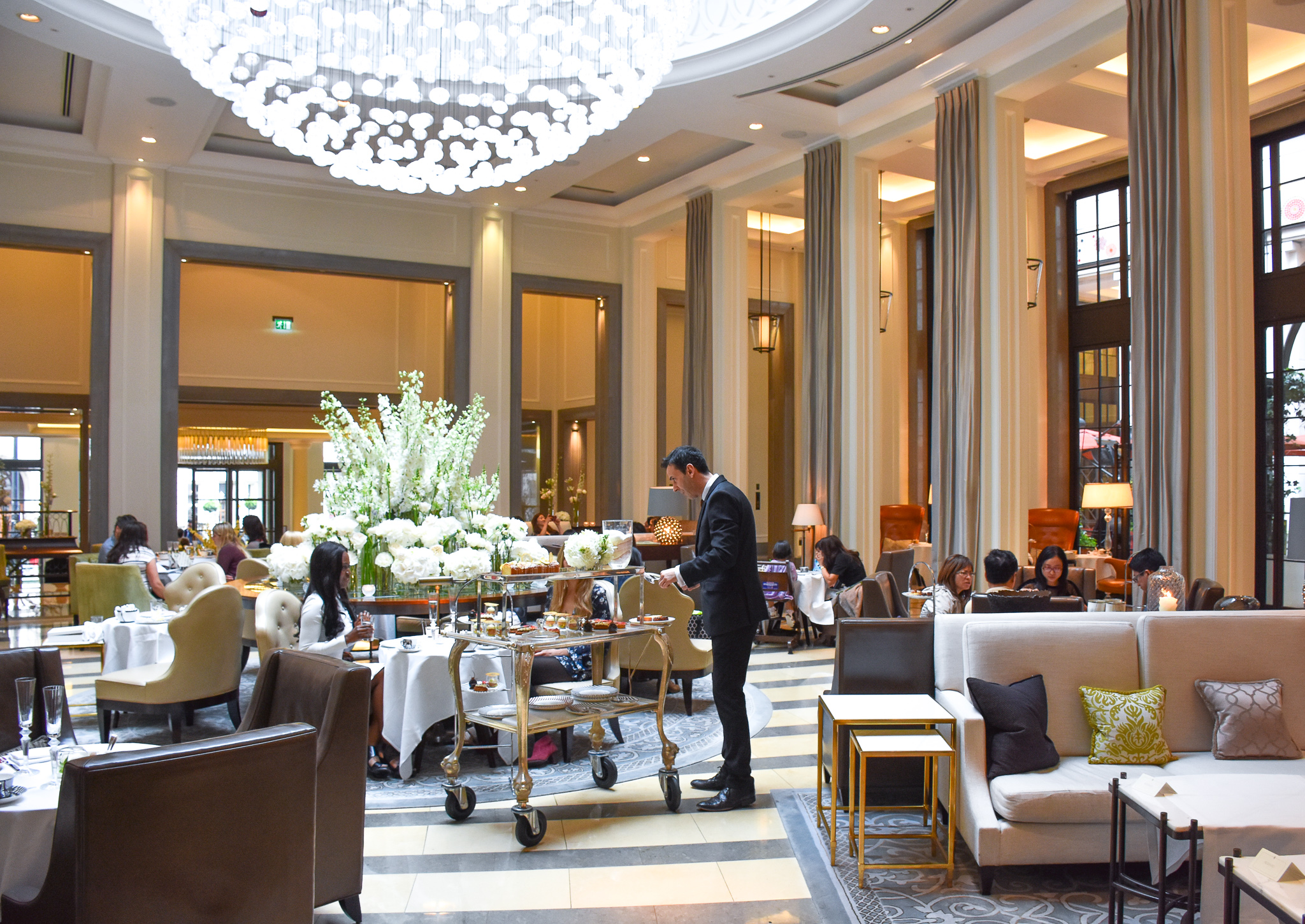 Corinthia Hotel London Afternoon Tea Review: Five Star Service in ...