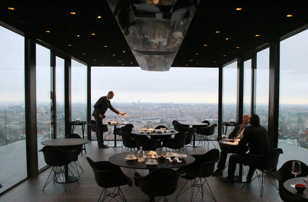 Review La Villa In The Sky Brussels Belgium The
